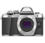 Aparat Foto Mirrorless Olympus E-M10 Mark II, Body, 16.1 MP, Filmare Full HD (Argintiu)