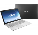 """ASUS Laptop ASUS N750JV-T4042D (Intel Core i7-4700HQ, Haswell, 17.3""""FHD, 8GB, 1TB, nVidia GeForce GT 750M@4GB, USB 3.0, HDMI) Laptopuri"""