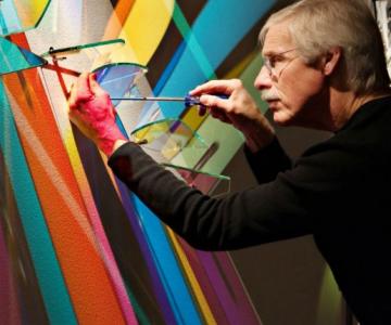 Picturi cu lumina: Prima forma de arta unica din acest secol