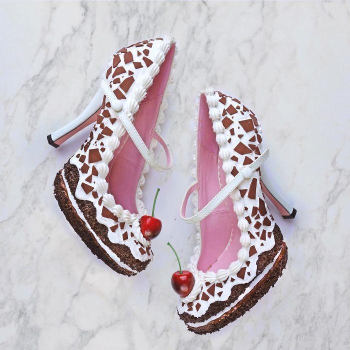 Pantofii cu aspect de prajituri, la mare moda in acest sezon - Poza 4