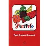 Fructele: bloc de colorat in versuri