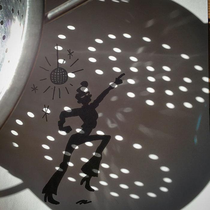 15+ Ilustratii haioase cu umbre - Poza 1