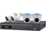 Kit supraveghere video Q-see QT914-2S2D1 (DVR 4 canale + 4 Camere Video)