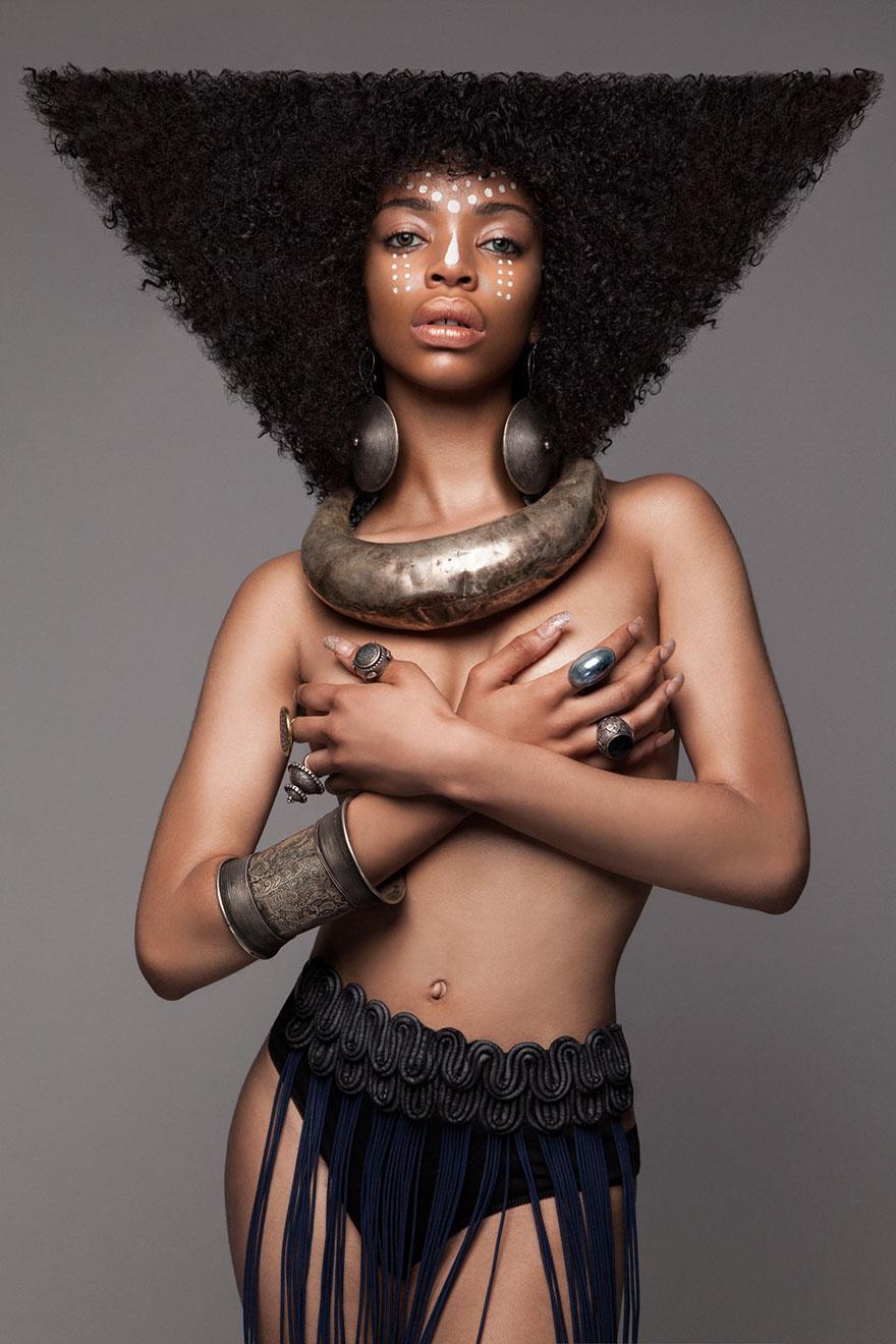 Frumusete feminina in cultura africana - Poza 8
