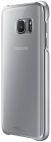 Protectie spate Samsung EF-QG930 pentru Samsung Galaxy S7 (Transparent/Argintiu)