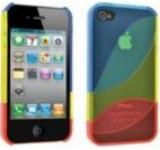 Husa Blautel BLTCANRI4 protectie spate iPhone 4/4S (Multicolor)