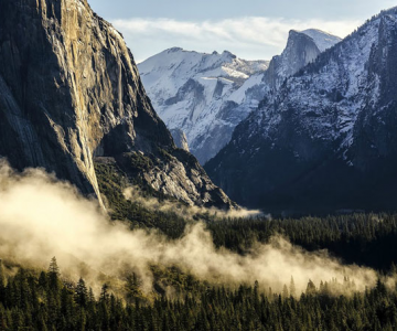 11 peisaje superbe din Parcul National Yosemite