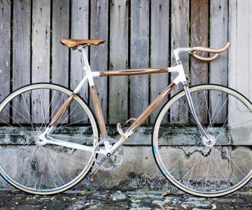 PLYbike, bicicleta cu cadru din lemn