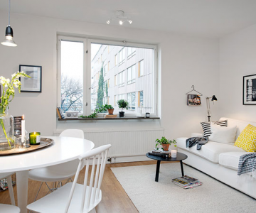 Apartament mic, shabby chic, la Gothenburg
