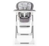 Scaun de masa pentru bebe Joie Mimzy High Chair Lx Khloe & Bert (Alb-Gri)