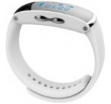 Bratara Fitness Cronos Hebe, afiseaza identitate apelant, receptionare SMS, functie de ceas desteptator, cronometru, pedometru, monitorizare somn, calorii, functie anti-lost, permite conectare la dispozitive Android si iOS (Alb)