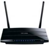 Router Wireless TP-LINK TL-WDR3600, 300 + 300 Mbps, DualBand, Gigabit, 2 x USB 2.0, Media server, 2 antene detasabile