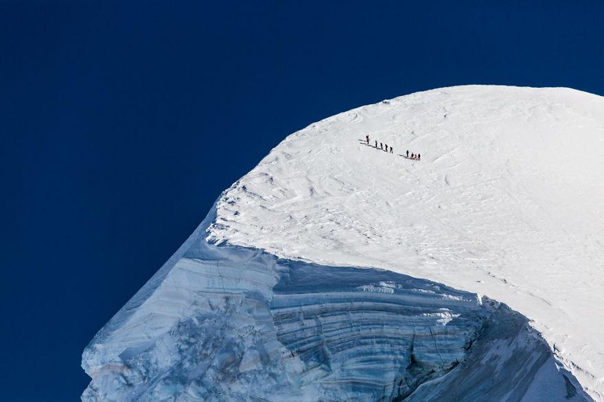 Maretia Alpilor pe timp de iarna - Poza 1