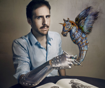 Portrete suprarealiste cu prietenii, de Jon Jacobsen