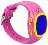 Smartwatch Vonino Kids Watch S2, 2G, Curea silicon, pentru Copii, Cartela SIM Orange PrePay inclus (Roz)