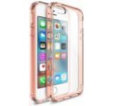 Protectie spate Ringke Fusion 822440, folie protectie inclusa, pentru Apple iPhone SE (Transparent/Rose Gold)