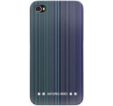 Husa Blautel BLTAMCRAZ protectie spate si folie de protectie iPhone 4/4S (Albastru)