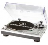 Pick-up Audio Tehnica HS10 AT-LP120USBHC, platan profesional (Argintiu)