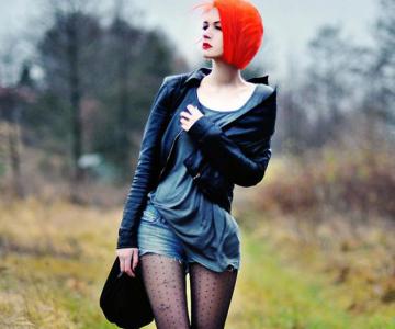 Punk, retro, foto, stil, de Aleksandra