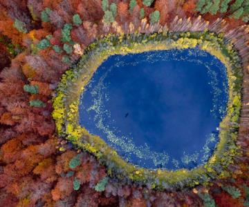 Lacurile din Polonia de-a lungul anotimpurilor