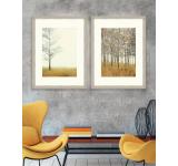 Tablou 2 piese Framed Art Autumn Forest
