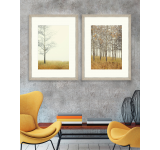Tablou 2 piese Framed Art Autumn Forest
