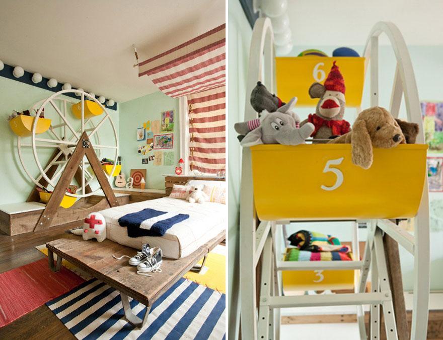 Cum sa aduci basmul in camera copilului. 15+ Idei geniale de amenajare - Poza 15