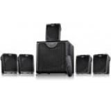 Sistem boxe 5.1 F&D F2300X, 65W, Bluetooth, NFC, USB/microSD, Telecomanda (Negru)