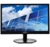Monitor LED Philips 21.5inch 221B6LPCB/00, Full HD (1920 x 1080), DVI, VGA, 5 ms, Boxe, Pivot (Negru)