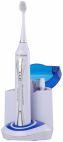 Periuta de dinti electrica sonica Dr. Mayer GTS2050UV cu sterilizator, reincarcabila, Alb