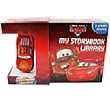 Disney Pixar Car My Storybook Library 6 Board Books with Lightning Figurine Toy