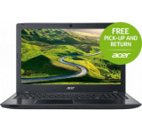 "Acer Laptop Acer Aspire E5-575G (Procesor Intel® Core™ i5-7200U (3M Cache, up to 3.10 GHz), Kaby Lake, 15.6""FHD, 4GB, 256GB SSD, nVidia GeForce 940MX@2GB, Wireless AC, Linux, Negru) Laptopuri Pentru mai multe detalii despre campania Pick Up and Retur"