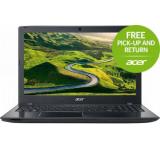 """Acer Laptop Acer Aspire E5-575G (Procesor Intel® Core™ i5-7200U (3M Cache, up to 3.10 GHz), Kaby Lake, 15.6""""FHD, 4GB, 256GB SSD, nVidia GeForce 940MX@2GB, Wireless AC, Linux, Negru) Laptopuri Pentru mai multe detalii despre campania Pick Up and Retur"""