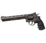 Revolver Airsoft PNI-DW8 Dan Wesson, 8 inch, negru, cu CO2, calibru 6 mm