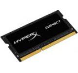 Memorie Laptop Kingston HyperX Impact Black SO-DIMM DDR3L, 1x4GB, 2133MHz, 1.35V, (CL11)