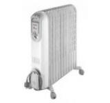 Radiator cu ulei DeLonghi Vento V550920, 9 elementi, 2000W (Alb)