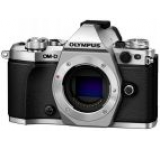 Aparat Foto Mirrorless Olympus E-M5II, Body, 16 MP, Filmare Full HD (Argintiu)