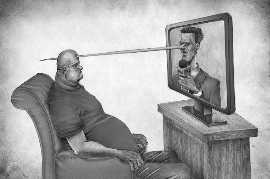 Problemele societatii actuale, in ilustratii rascolitor de sincere - Poza 3