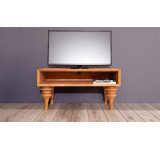 Comoda TV din lemn masiv de fag Parys RTV natural
