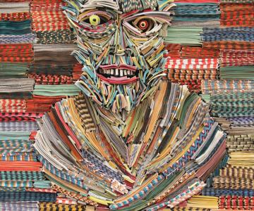 Portrete reciclate de Nick Georgiou