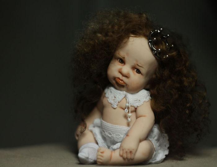 Papusi realiste superbe, de Elena Kirilenko - Poza 3