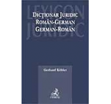 Dictionar juridic roman - german german - roman