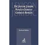 Dictionar juridic roman - german german - roman