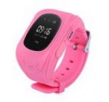 Smartwatch iUni Kid60 70991-1, 0.96inch, GPS, Bratara silicon, dedicat pentru copii (Roz)