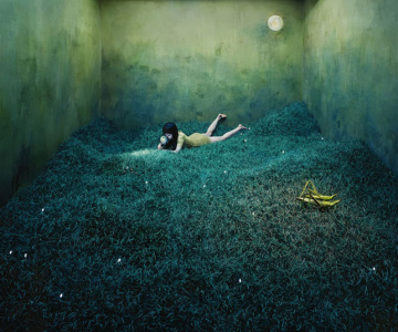 Fotografii suprarealiste fara Photoshop, de Jee Young Lee