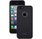 Husa Moshi iGlaze protectie spate iPhone 5/5S (Negru)