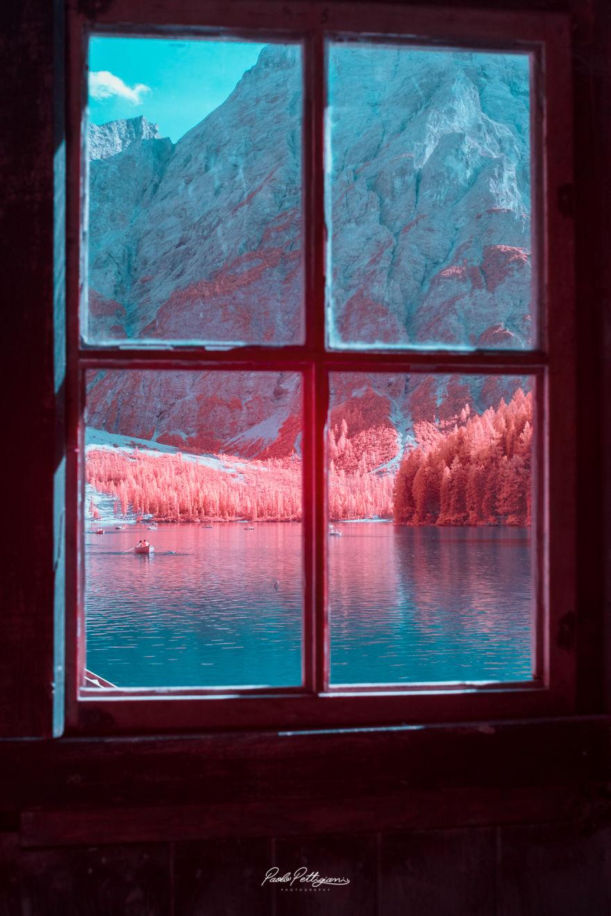 Lumea in infrarosu, intr-un set de fotografii superbe - Poza 15