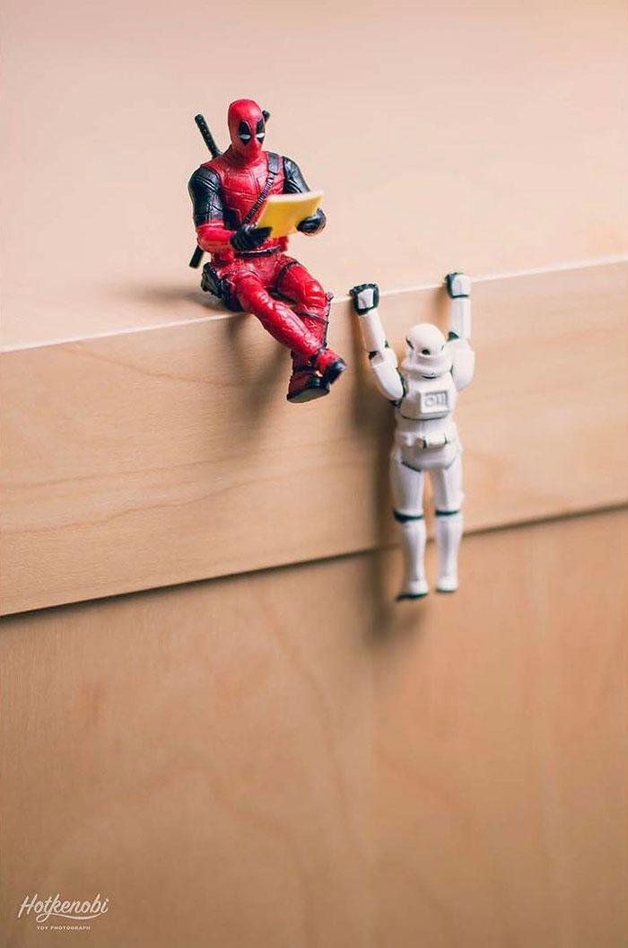 Supereroi adusi la viata, in ipostaze haioase - Poza 3