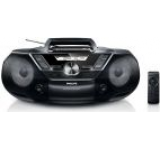 Micro Sistem Philips AZ787, CD/MP3 Player, Caseta (Negru)