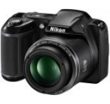 Aparat Foto Digital NIKON COOLPIX L340 (Negru), Filmare HD, 20.2MP, Zoom Optic 28x